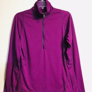 COLUMBIA SPORTSWEAR PURPLE PULLOVER WOMEN, MEDIUM
